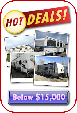 Hot Deals... RV's Under 15K
