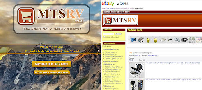 Shop Parts & Accessories Online - MTSRV.com