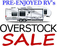 Pre-Owned RV's - Overstock Sales Event